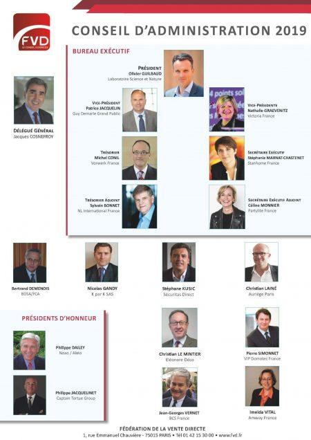 Conseil d'Administration 2019 - Affiche BD