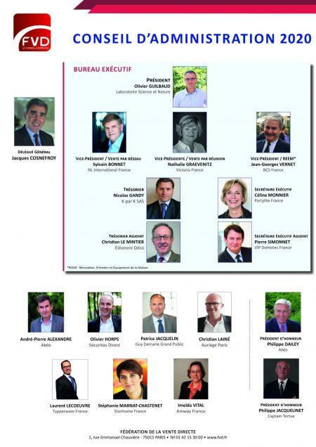 Conseil d'Administration 2020- Affiche